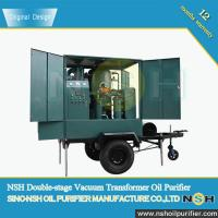 Quality Best Quality used transformer oil filter machine, improve oil dielectric strength, connect with transformer,mobile type wholesale
