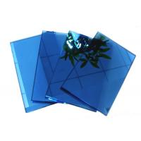 Quality Blue , grey , pink Coloured Reflective Glass Sheet for Commercial Buildings wholesale