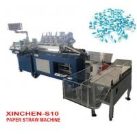 Quality Green Enviramental Paper Straw Sucker Pipet Making Machine wholesale