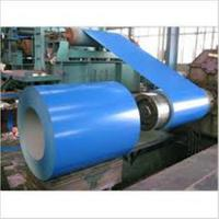 Buy cheap Color Coated Painted Steel Coil Corrosion Resistance EN10327 DX51D+AZ product