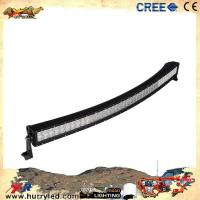 Quality 240w 40inch curved cree led light bar for offroad wholesale