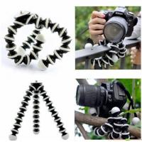 Quality Large Flexible Tripod for SLR, DSLR and compact cameras - Black wholesale