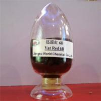 Buy cheap High fastness environment friendly Indanthrene Dye C I Vat red 13 Vat red 6B dyes from wholesalers
