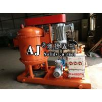Cheap China ZCQ series drilling fluid vacuum degasser & as a big mud agitator supplier for sale