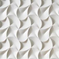 Quality Pop Sale Lowes Price Wave Pattern 3D Wall Decor Panels 3D Board For Bathroom wholesale