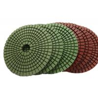 Buy cheap Abrasion Resistant Diamond Resin Polishing Pads Installed On Portable Grinding from wholesalers