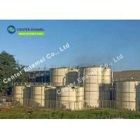 China 300 000 Gallon Fire Water Tanks / Glass Fused To Steel Tanks For Water Storage on sale