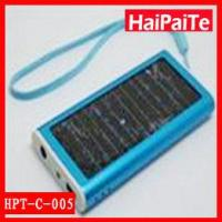Quality Solar Powered Battery Charger with Flashlight wholesale