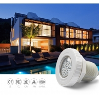 China Engineering ABS 1.5m Cable Vinyl Pool Lights SMD5050 on sale
