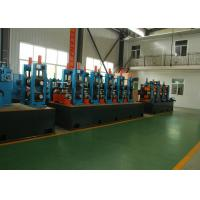 Quality Adjustable Pipe Size Steel Pipe Production Line Carbon Steel With 100m / Min Running Speed wholesale