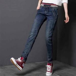 Quality Jeans Slim Elegant 98%Cotton & 2% Spandex Gray Light-Dark Navy Skinny wholesale