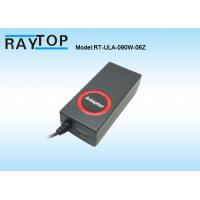 Quality Red Epoxy Circle Engraved LOGO 90W Automatic Universal Laptop AC Adapter 10 Tips wholesale