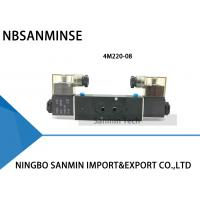 Quality NBSANMINSE 4M Manifold Type Pneumatic Solenoid Valve Single / Double Coil Pneumatic Valve wholesale