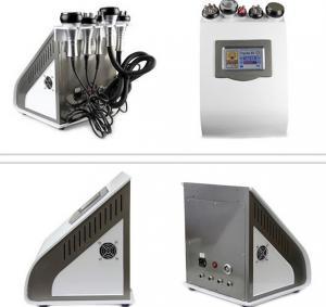 China Vacuum Fractional RF Diode Laser Lipo Cavitation Machine 650nm 100mW Power on sale