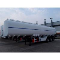 Quality 3 axle 40000 liters to 50000 liters plastic tractor fuel tank trailer for sale wholesale