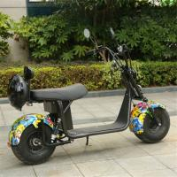 China Sun Shine 2 wheel scooter electric fashion design electric scooter citycoco 2019 hot sale on sale