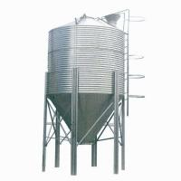 China High Strength Steel Hopper Bins Feed Storage Assembly With Hot Galvanized Steel Sheet on sale