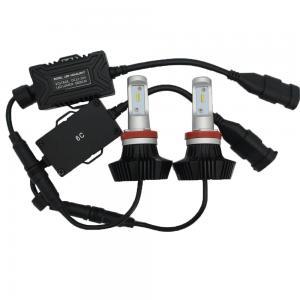 Cheap Portable LED Lights12V/24V LED Headlight 36W4000LM Lumiled ZES LED Chip for sale