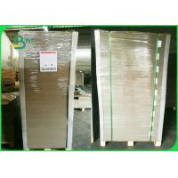 China Recycled Grey Cardboard Sheets 1.5mm thick FSC Backside to Writing Pads Material on sale