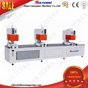 China UPVC Windows Three Head Seamless Welding Machines for colorful profiles SHZ3B-120x3500 on sale