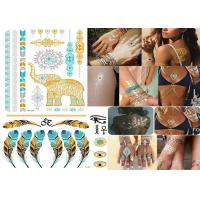 Quality Transformers Temporary Metallic Tattoo Stickers Custom Designs Bling Shiny wholesale