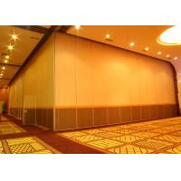 Quality Office Hanging Sliding Door , 65mm Panel Operable Wall For Banquet Wedding Facility wholesale