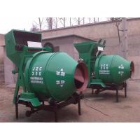 JZC concrete mixers portable cement concrete mixer for wheel loader
