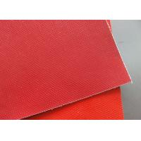Cheap Non - Stick Double - Sided PTFE Coated Fiberglass Fabric High Temperature Resistance for sale