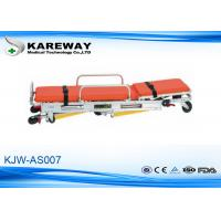 China Backrest Adjustment Patient Trolley Stretcher , Fold Up Stretcher 3 Years Guarantee on sale