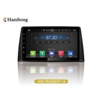 Quality PEUGEOT 308 GPS Navigation System NXP6686 Radio With Full Touch Screen wholesale
