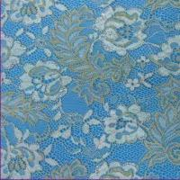Quality Lace Fabric with 55 to 57 Inches Width, Available in White, Made of Cotton and Nylon wholesale