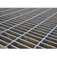 Quality Mesh Drain Cover Serrated Steel Grating Silver Color Heavy Duty Load wholesale