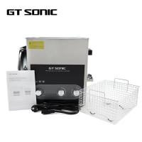 Quality SS304 Heated Ultrasonic Cleaner Bath 13L Capacity 28/40kHz For 3D Printer Parts wholesale