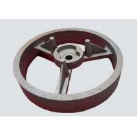 Quality Flywheel Resin Bonded Sand Casting FCD550 GGG55  Material With Smooth Surface wholesale