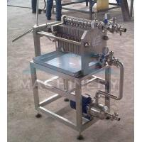 Quality Beer Honey Oil Plate and Frame Filter Press Machine and Price wholesale