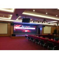 Quality P4.81mm Conference Concerts stage background led display Rental , Ultra Thin wholesale