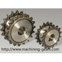 Vehicle Parts Precision 316 SS Double Chain Sprocket With Heat Treatment