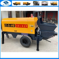 China China hot sell small diesel ready wet concrete injection grouting pump machine for mine on sale
