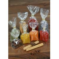 Quality Snack Food OPP Square / Block Bottom Bags , Side Gusset Bag wholesale