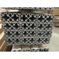 Quality Silver and Black Anodized 6063 T5 Aluminum T slot Profile / aluminum frame extrusions wholesale