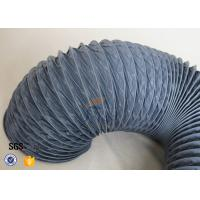 Quality Waterproof / Fire Resistant PVC Coated Fiberglass Fabric For Flexible Air Ducting wholesale
