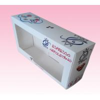 China custom 400gsm art paper box printing with clear plastic cover lid on sale