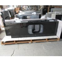 Quality Natural Angola Black Granite Slab Countertop Cost Kitchen Countertop Worktops wholesale