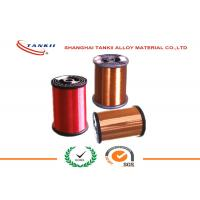 Quality Enamelled  Manganin Copper Nickel Wire / Heat Resistant Nickel Coated Copper Wire wholesale