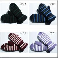 Buy cheap girls' beautiful style acrylic mitten SF017-SF020 high qualitychildren mittens from wholesalers