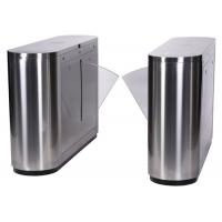 RFID Card Reader Flap Barrier Gate , Waist High Turnstile Access Control