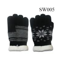 Quality ladies wool gloves SW005 high quality fashion gloves warm glove wholesale