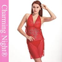 China ODM Sexy Women Chemise Lingerie Backless Fetish sexy valentine dress on sale