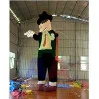 Buy cheap Vivid 13 Feet High Giant Inflatable Figure Pop Misic King Inflatable Michael from wholesalers
