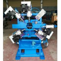 Quality Parking lot  Light Pole Machine  , Double Hole Drilling machine for 40 ~ 120mm pipe wholesale